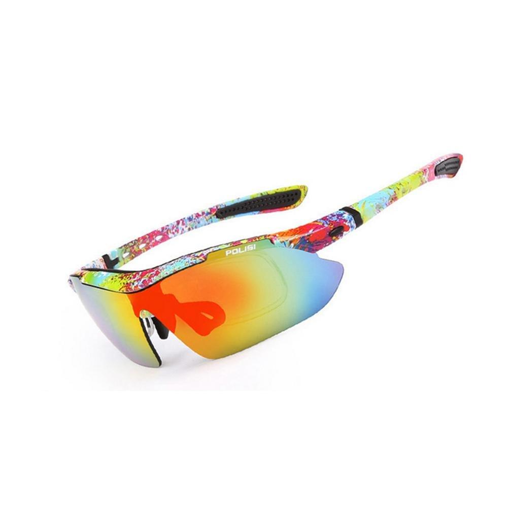 DZW Outdoor Angeln Brille polarisierte Sonnenbrille Bergsteigen fahren Sport Reiten Brille für Film Brille mit Myopie ausgestattet werden können , 16