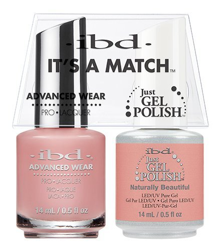 Beautiful Duo - ibd Advanced Wear Color Duo Naturally Beautiful #482 UV Gel Color