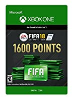 FIFA 18: Ultimate Team FIFA Points 1600 - Xbox One [Digital Code]
