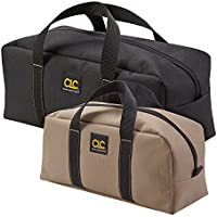 2 Pack CLC 1107 Medium and Large Utility Tote Bag Combo