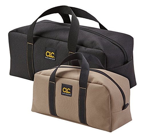 CLC 1107 2 Pack Medium and Large Utility Tote Bag Combo