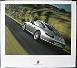 2005 Porsche 911 997 Carrera Showroom Poster