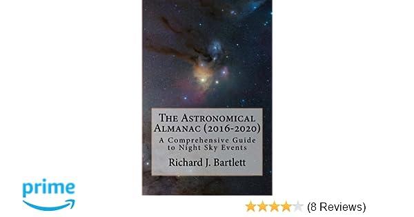 Events Sc 2020.The Astronomical Almanac 2016 2020 A Comprehensive Guide