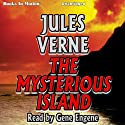 The Mysterious Island Audiobook by Jules Verne Narrated by Gene Engene