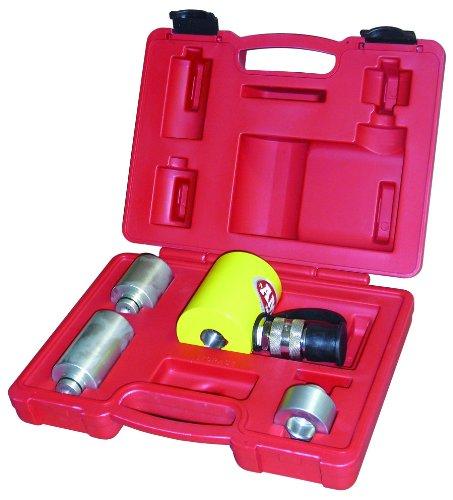 Ame International Alum-A-Stack Hydraulic Ram Kit - 10-Ton Capacity, 3 Extensions, Model# 13070