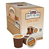 Grove Square Tea, Chai Latte, 24 Single Serve Cups (Pack of 4)