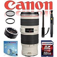 Safari Kit For Canon DSLR Cameras w/ Canon EF 70-200mm f/4 L IS USM Lens