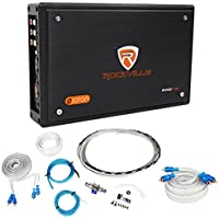 Rockville RXD-F20 Micro Car/ATV Amplifier 1600w Peak 4 Channel 4x100W+Amp Kit