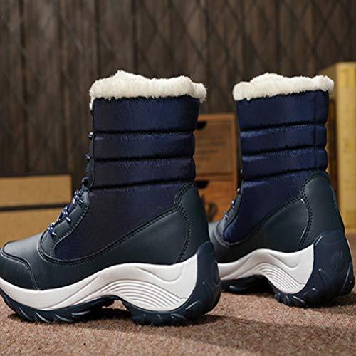 Chaussures De Étudiant Occasionnelles Femmes Dentelle Plat Aide Sport Grande C Hiver wwqO51r