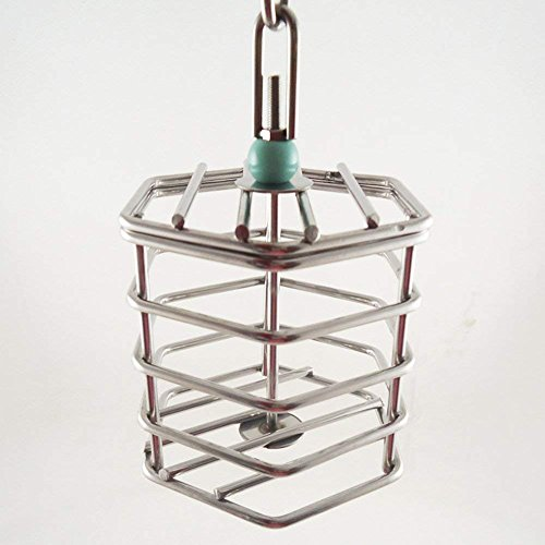 Hypeety Parrot Foraging Feeder Unique Parrot Bird Cage Hanging Feeder Parrot Hanging Foraging Toys No Blocks (Feeder)