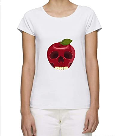 T Shirt Premium Manche Courte Col Rond Skull Apple