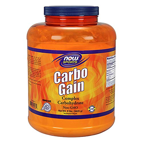 NOW Sports Carbo Gain Powder, 8-Pound