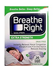 Breathe Right Extra Strength Nose Strips...