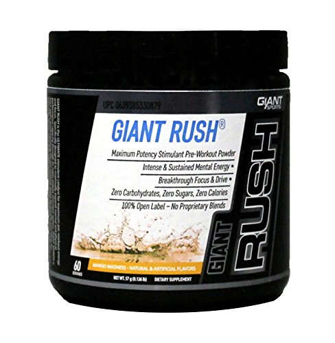 Giant Sports Rush, Mango Madness, 0.126 Pound
