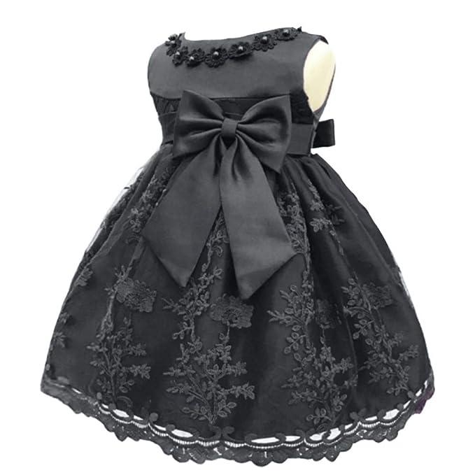 Amazon.com: Meiqiduo - Vestido de fiesta para bebé o niña ...