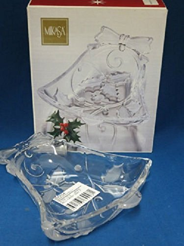 Candy Dish Bell (Season's Holly Bell Candy Dish 7 by Mikasa)