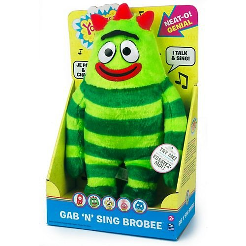 Yo Gabba Gabba! Gab 'N Sing 12 Inch Plush - Brobee ()