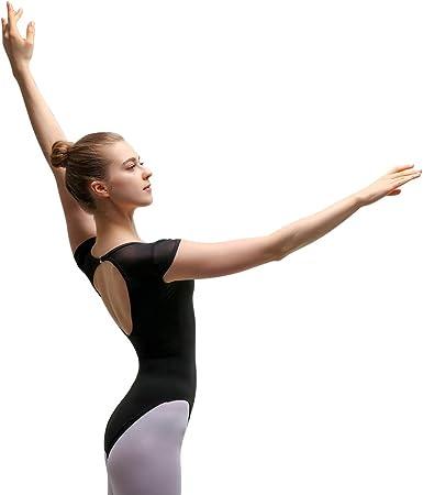Ladies ballet cotton V front dance short