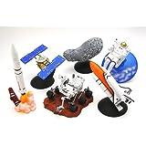 カプセル 宇宙博2014 NASA・JAXAの挑戦 宇宙への挑戦 最新宇宙探査ミニチュアモデル 全6種セット