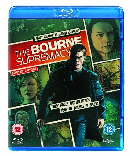 The Bourne Supremacy: Reel Heroes Sleeve [Blu-ray] (Region Free)