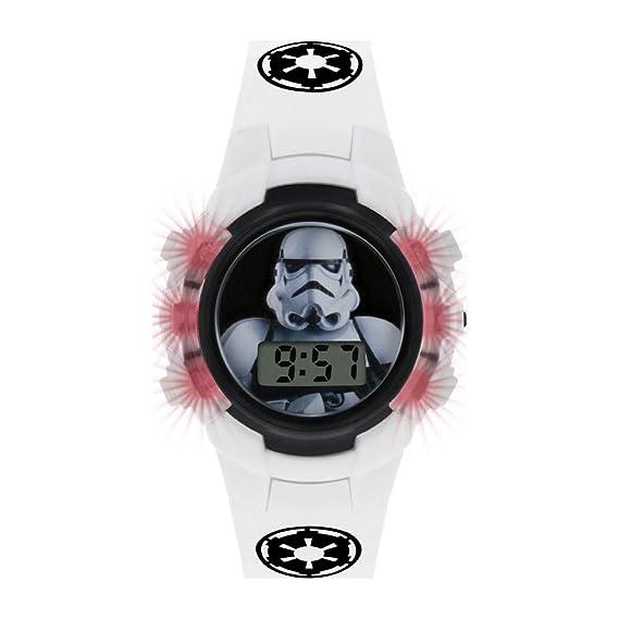 Star Wars Reloj Niños de Digital con Correa en PU STM4322: Amazon.es: Relojes
