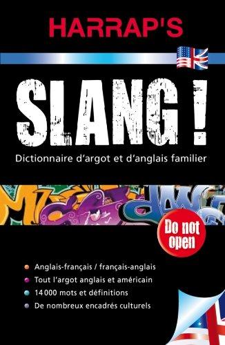 Download Harrap's slang - Dictionnaire d'argot anglais et americain (French Edition) pdf