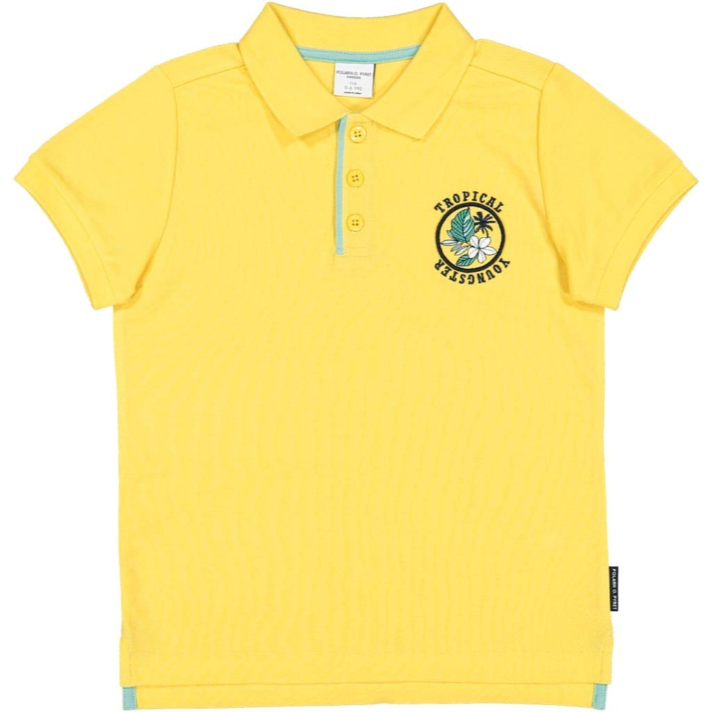 Polarn O 1-6YRS Pyret Club Tropical ECO Polo