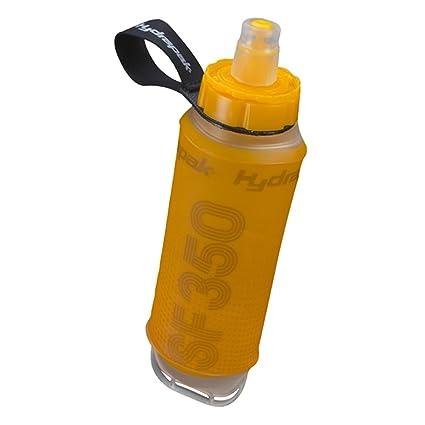 54d0cbf34e Amazon.com : Hydrapak SF350 SoftFlask, Orange, 350ml : Camping Botas ...