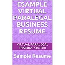 eSample  Virtual Paralegal Business Resume: Sample Resume