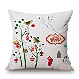 Slimmingpiggy Valentine Day Pillow Covers Of Christmas For Kitchen Kids Room Dance Room Seat Monther Boys 18 X 18 Inches / 45 By 45 Cm(two Sides)
