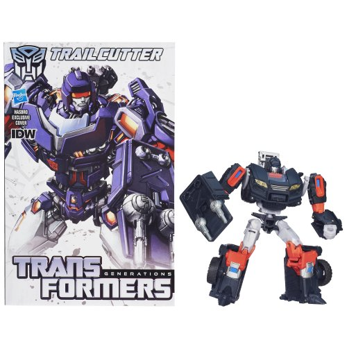 Transformers Generations Deluxe Class Trailcutter Action Figure