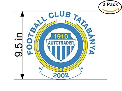 fctatabanya-autotrader-hungary-soccer-football-club-fc-2-stickers-car-bumper-window-sticker-decal-hu