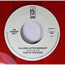 Garth Brooks 45 RPM Walking After Midnigh / Learning To Live Again