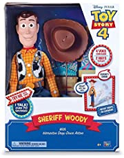 disney pixar Story 4 -Sheriff Woody Special Feature with interactive drop down action