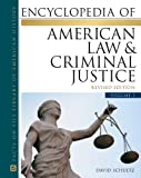 Encyclopedia of American Law and Criminal Justice, Schultz, David, 081608145X
