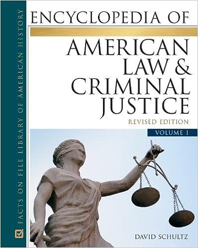 Amazon com: Encyclopedia of American Law and Criminal