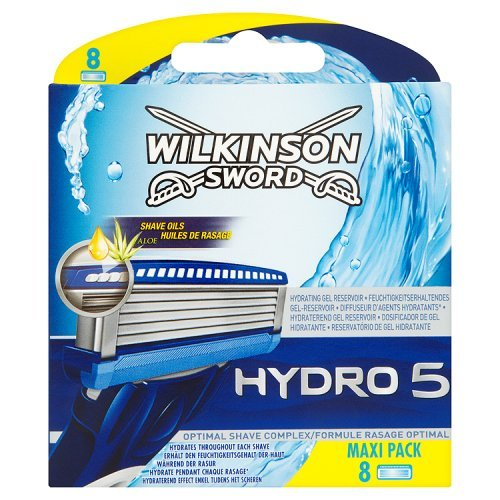 Wilkinson Sword Hydro 5 Razor Blades, 8 Blades product image