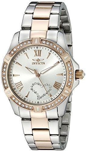 Invicta Women's 21385 Angel Analog Display Quartz Two Tone Watch
