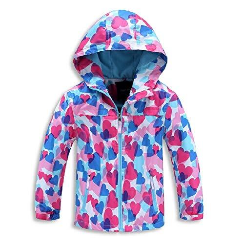 rain jacket girls size 7 - 9