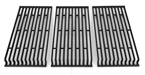 Cast Iron Cooking Grid for Fiesta FG500057-103, FGF50057, FGF50069-103, FGF50069-U40 Gas Grill Models, Set of 3
