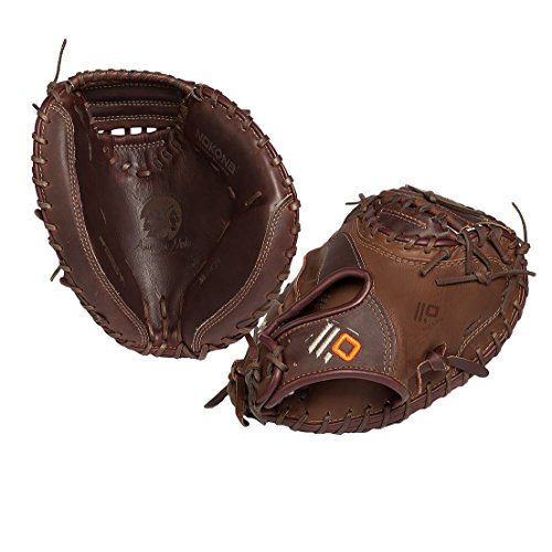 Nokona X2 Baseball Catcher's Mitt with 33-Inch Pattern, for Right Handed (Pattern Baseball Catchers Mitt)