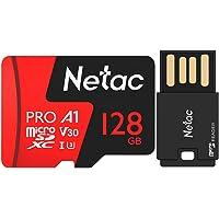 Cartão Memória Micro SD Extreme Pro Netac e ADPT USB (128GB)