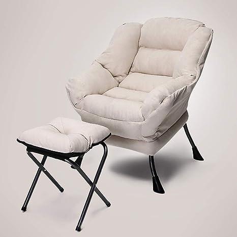 Amazon.com: QING MEI-lazy sofá para el hogar, dormitorio ...