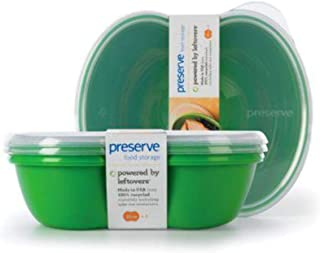 product image for Pre Food Stor Sq Grn Size 25z Pre Square Food Storage Container, Green 2pk