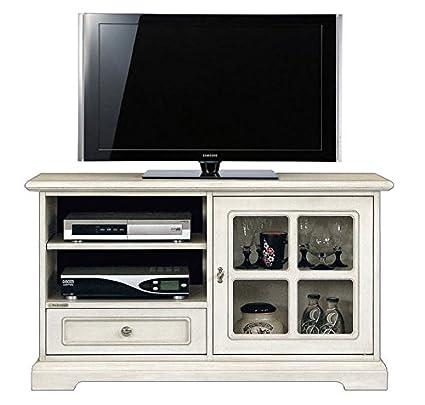 Mobile porta tv laccato, porta tv in legno, mobile per tv in legno ...