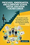 Preschool, Kindergarten, and Elementary School Special Education Teacher Career: The Insider's Guide to Finding a Job at an Amazing Firm, Acing The Interview & Getting Promoted