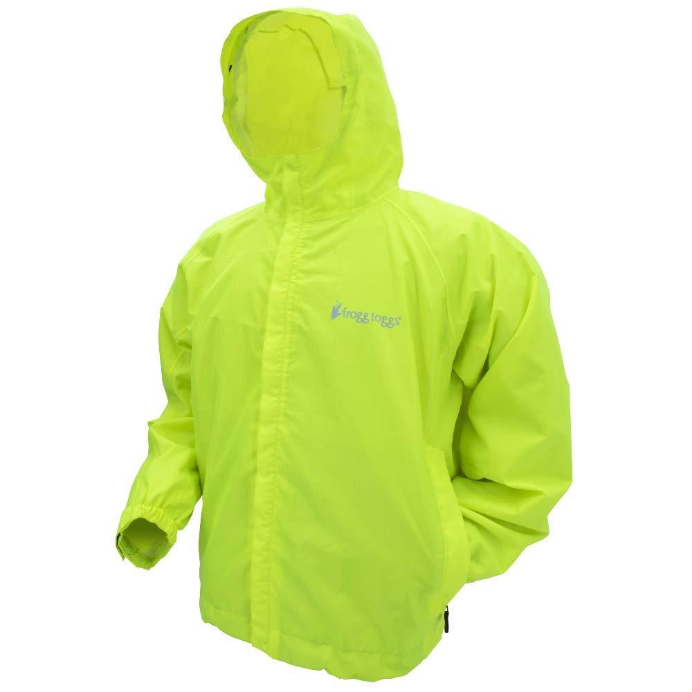 Frogg Toggs Men's Stormwatch Rain Jacket, Hi-Vis Yellow, Medium by Frogg Toggs