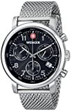 "Wenger Men's 01.1043.102 ""Urban Classic"" Silver-Tone Chrono Watch with Mesh Bracelet"