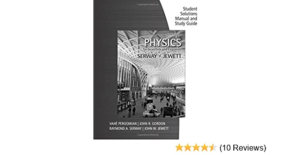 Amazon study guide with student solutions manual volume 1 for amazon study guide with student solutions manual volume 1 for serwayjewetts physics for scientists and engineers 9th ebook raymond a serway fandeluxe Choice Image