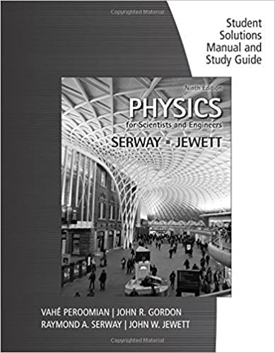 Amazon study guide with student solutions manual volume 1 for study guide with student solutions manual volume 1 for serwayjewetts physics for scientists and engineers 9th 9th edition kindle edition fandeluxe Choice Image